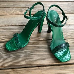 75007398cc8 River Island Croc Barely There Heel Sandals NWT NWT